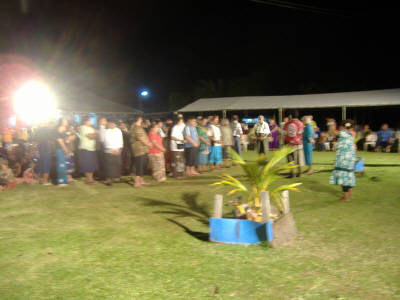 33 of the 40+ Samoan missionaries commissioned