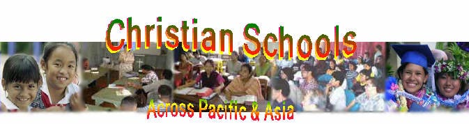 Christian Schools across Pacific & Asia