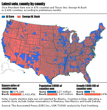 Democracy How Long Will It Last - Us democracy republic map by county
