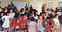 Orphans in Indonesia Across Ministries helps